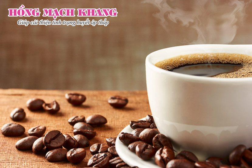 Cà phê có thể giúp nâng huyết áp tạm thời